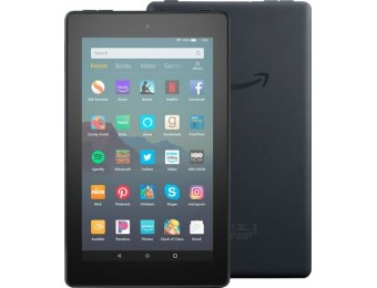 "$15 off Amazon Fire 7 2019 release 7"" Tablet - 16GB"