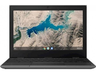 "$131 off Lenovo 100e 11.6"" Chromebook - 4GB, 32GB eMMC"