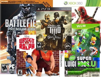 Video Games Cyber Sale - 30 Hot Video Games for $14.99 each