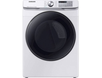 $300 off Samsung 7.5 CF 12-Cycle Smart Wi-Fi Electric Dryer w/ Steam