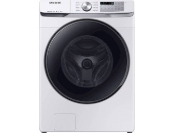 $300 off Samsung 5.0 CF 12-Cycle Smart Wi-Fi Washer w/ Steam