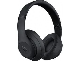 $173 off Beats Studio Wireless Noise Cancelling Headphones, Referb