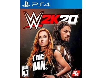 $40 off WWE 2K20 - PlayStation 4