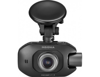 $30 off Insignia Front and Rear Camera Dash Cam