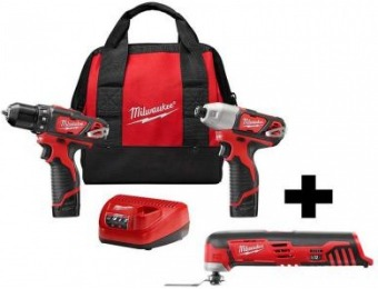 $99 off Milwaukee M12 Drill Driver/Impact Driver Combo Kit