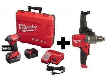 $199 off Milwaukee M18 FUEL SURGE Brushless Hex Impact Driver Kit