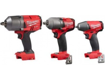 $126 off Milwaukee M18 Brushless Impact Wrench Combo Kit