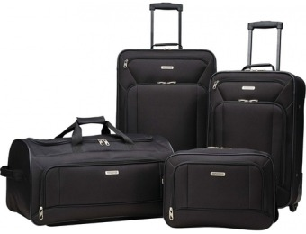 "$44 off American Tourister 21""/25"" Luggage Set (4-Piece)"