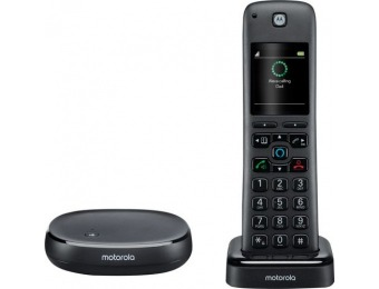 $60 off Motorola Alexa Built-In Wireless Home Telephone System