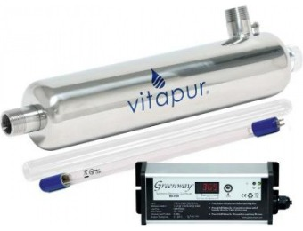 68% off Vitapur Ultraviolet Water Disinfection System