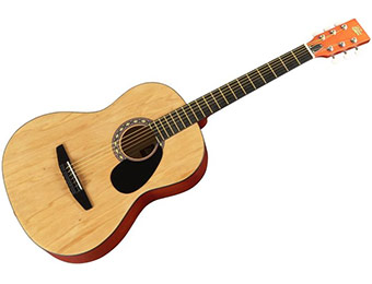 65% off Rogue Starter Acoustic Guitar (6 finish color choices)