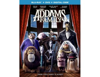 60% off The Addams Family (Blu-ray/DVD)