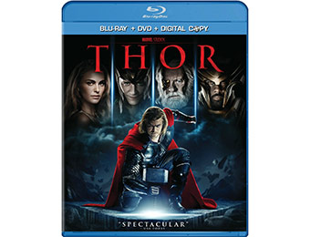 52% off Thor (Two-Disc Blu-ray/DVD Combo + Digital Copy)