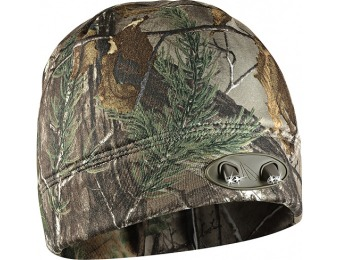 36% off Panther Vision POWERCAP 35/55 Fleece Beanie - Realtree Xtra