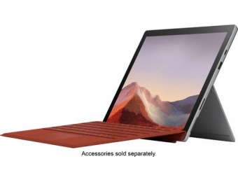 "$100 off Microsoft Surface Pro 7 12.3"" Touch Screen"