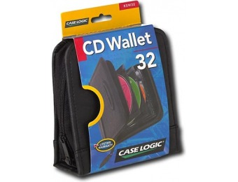 50% off Case Logic 32-Disc CD Wallet