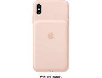 $65 off Apple iPhone XS Max Smart Battery Case - Pink Sand
