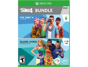 50% off The Sims 4 Plus Island Living Bundle - Xbox One