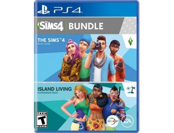 50% off The Sims 4 Plus Island Living Bundle - PlayStation 4