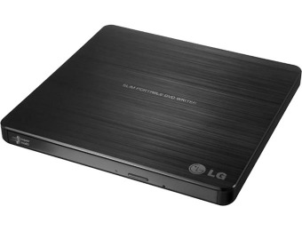 50% off LG SP60NB50 8x External Double-Layer DVD±RW/CD-RW Drive