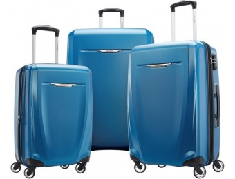 $278 off Samsonite Winfield 3 DLX Wheeled Luggage Set (3-Pc)