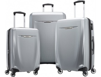 $279 off Samsonite Winfield 3 DLX Wheeled Luggage Set (3-Pc)