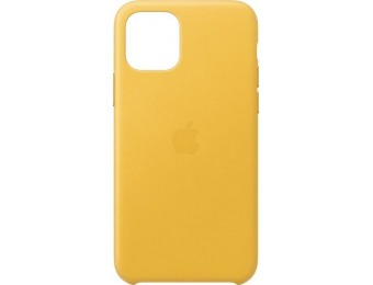 50% off Apple iPhone 11 Pro Leather Case - Meyer Lemon