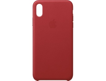 50% off Apple iPhone® XS Max Leather Case - Red