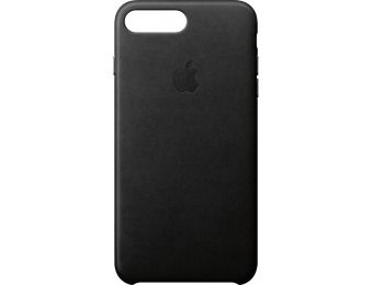 50% off Apple iPhone 8 Plus/7 Plus Leather Case - Black