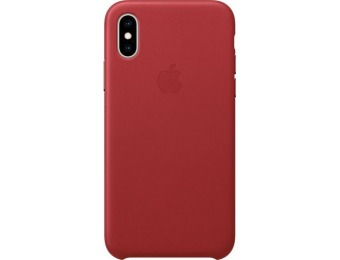 50% off Apple iPhone® XS Leather Case - (PRODUCT)RED