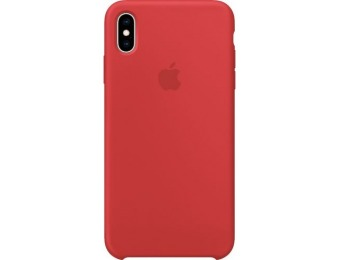 50% off Apple iPhone® XS Max Silicone Case - (PRODUCT)RED