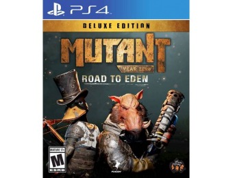 73% off Mutant Year Zero: Road to Eden Deluxe Edition - PlayStation 4