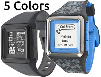$80 off MetaWatch STRATA Watch for iPhone & Android Mobile Phones