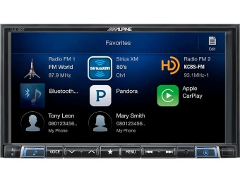 $300 off Alpine Android Auto/Apple CarPlay with Sirius XM Tuner