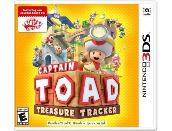 53% off Captain Toad: Treasure Tracker - Nintendo 3DS