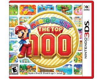 38% off Mario Party: The Top 100 - Nintendo 3DS