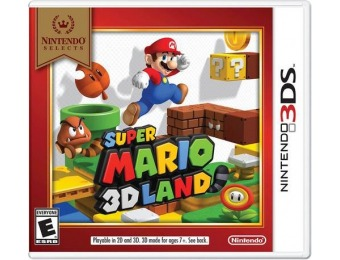 25% off Nintendo Selects: Super Mario 3D Land - Nintendo 3DS