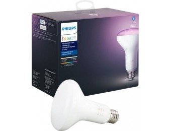 54% off Philips Hue Ambiance BR30 2nd Gen Smart LED Bulb