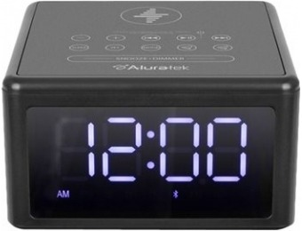 $29 off Aluratek Wireless Charging FM Clock Radio