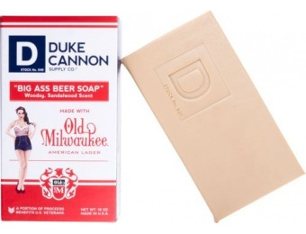 50% off Duke Cannon Big Ass Beer Soap