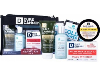 33% off Duke Cannon Handsome Man Travel Kit