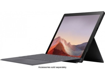 "$300 off Microsoft Surface Pro 7 12.3"" Touch Screen - Core i5, 256GB"