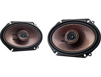 "$40 off Kenwood 6"" x 8"" 2-Way Car Speakers (Pair)"