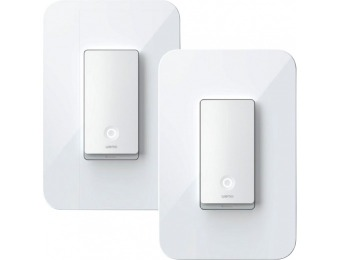 $20 off WeMo 3-Way Light Switch (2-Pack)