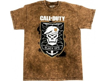 50% off Call of Duty Black Ops 4 T-Shirt (Extra-Large)