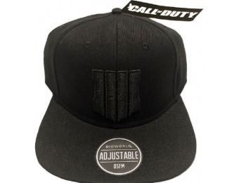 50% off Call of Duty Black Ops 4 Shield Snapback Cap