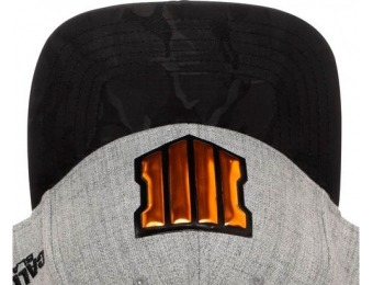 50% off Call of Duty Black Ops 4 Shield Line Icon Snapback Cap
