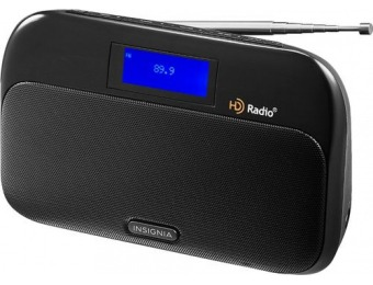 $25 off Insignia Tabletop FM/HD Radio