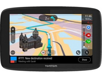"$75 off TomTom GO Supreme Bluetooth 6"" GPS, Lifetime Updates"
