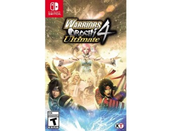 50% off Warriors Orochi 4 Ultimate - Nintendo Switch